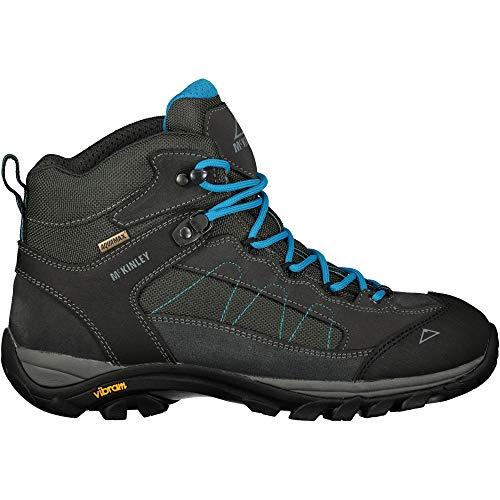 McKINLEY Damen Trekkingstiefel Denali Mid AQX II Trekking- & Wanderstiefel, Grau (Grey Dark/Turquoise 000), 39 EU
