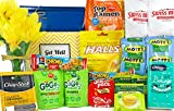 Get Well Gift Box Basket II - For Cold/Flu/Illness - Over 2.5 Pounds of Care, Concern, and Love -...
