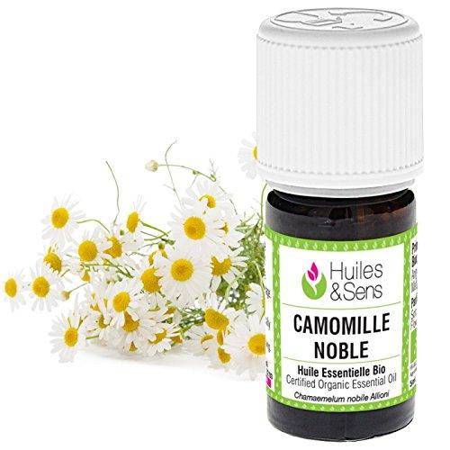 Huiles & Sens - huile essentielle camomille noble (bio) - 5 ml