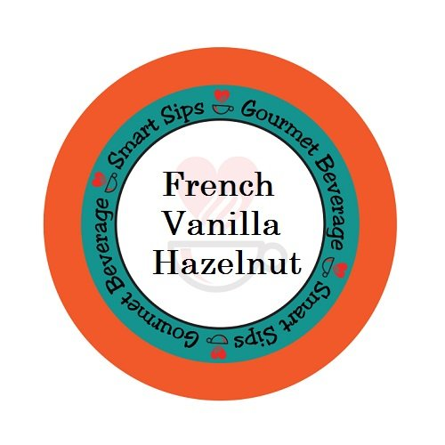 Smart Sips, French Vanilla Hazelnut Coffee, Compatible With All Keurig K-cup Brewers, 24 Count