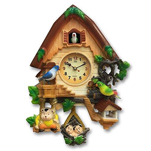 ZloveM Reloj De Pared Grande Silencioso Reloj Decoración para Hogar Cocina Salon Oficina Comedor Habitación Habitación Infantil Cuco Cuarzo Reloj De Tiempo