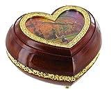 Caja de música / joyero musical en forma de corazón sobre el tema de San Valentín (Ref: 45001) - Eine...
