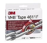 3M VHB 4611 - Cinta de espuma acrílica, gris
