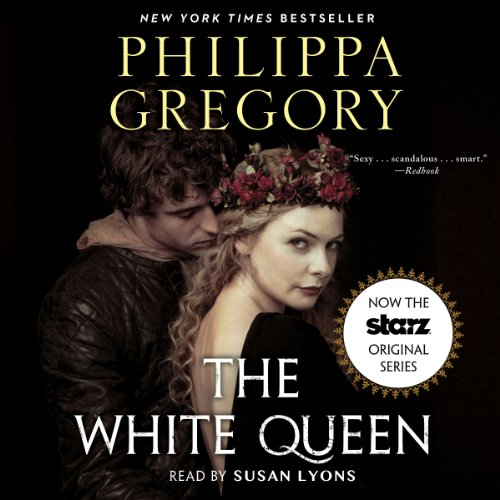 White Queen audiobook cover art