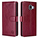 xinyunew For Samsung Galaxy J2 Pro 2018,Case Leather Wallet