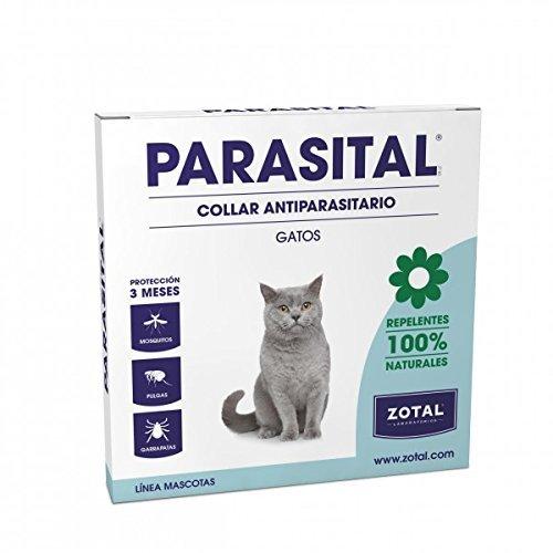 Parasital Collar Antiparasitario Gatos 1 Unidad de Zotal Veterinaria