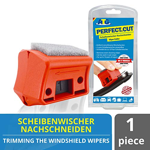 ATG Perfect.Cut Universal Windshield Wiper Regroover I Windshield Wiper Cutter I Wiper Blades Repair Quickly and Easily I DIY Smart Repair and Car Accessories
