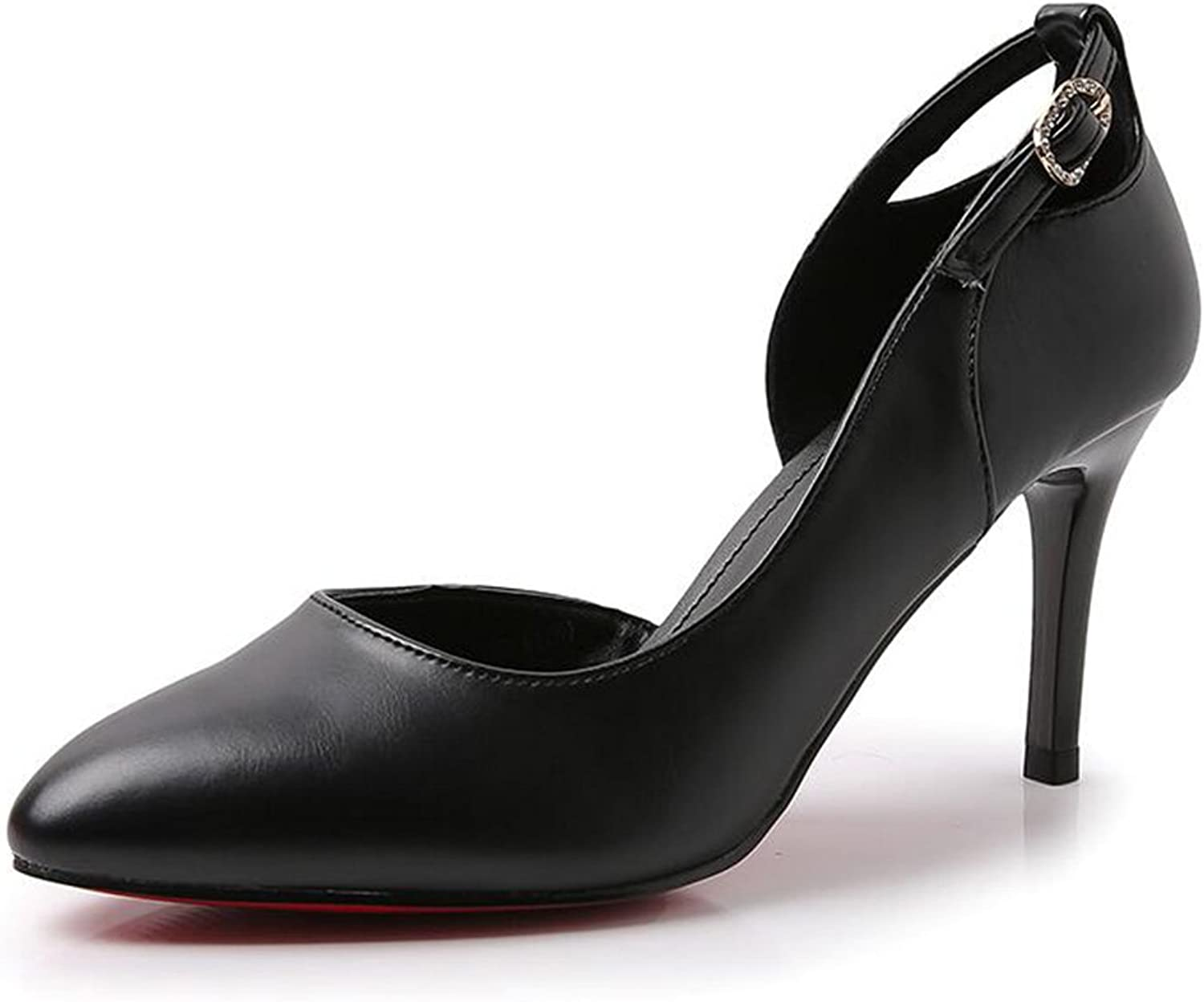 Jinsen Spring Korean High Heel Fine with Simple Fashion shoes shoes