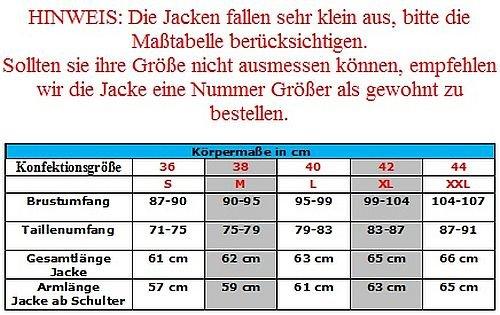 Heyberry Damen Motorrad Jacke Motorradjacke Textil Schwarz Weiß Gr. XL / 42 - 6
