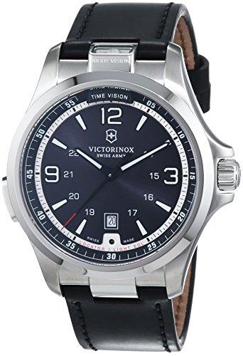 Victorinox Swiss Army Night Vision 241664 Mens Wristwatch With Illumination