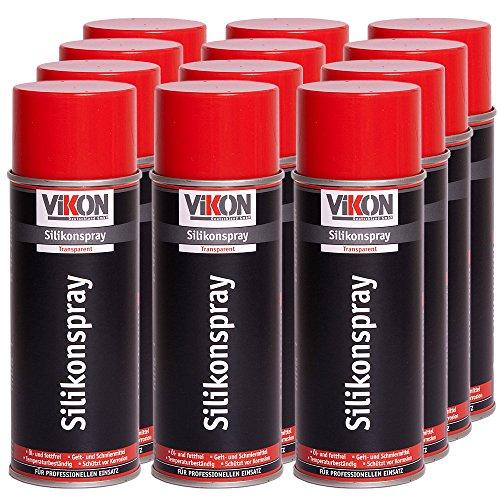 Preisvergleich Produktbild 12 Dosen VIKON Silikonspray 400 ml