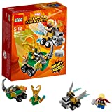 LEGO Marvel Super Heroes Mighty Micros: Thor vs. Loki 76091 Beliebtes Superheldenspielzeug für...