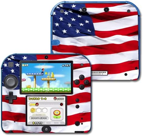Fresno Mall MightySkins Skin Compatible with Nintendo 2DS Flag Challenge the lowest price of Japan American -