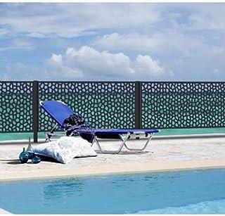 comprar comparacion Intermas nets M281483 - Panel decorativo nortene mosaic 1 x 2 m antracita