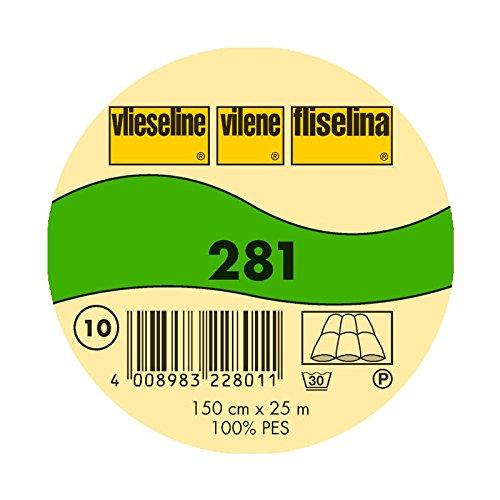 Freudenberg/Vlieseline Volumenvlies 281 Weiß, Pro M