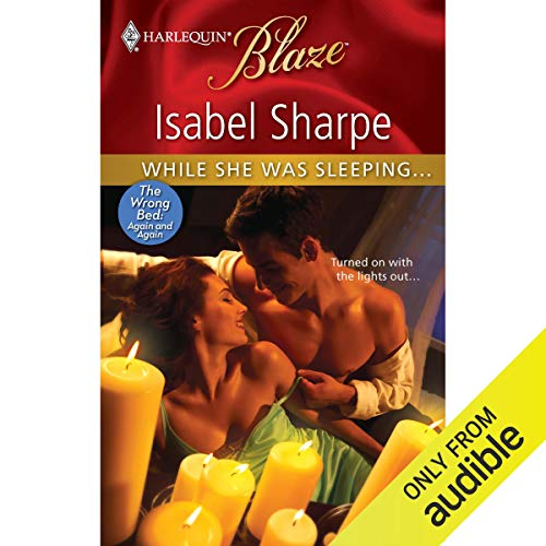 While She Was Sleeping... audiobook cover art