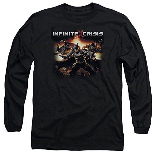 Crise Infinie - Batmen manches longues Homme T-shirt, XX-Large, Black
