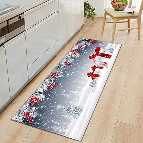 XIAOZHANG long rug White snow plant Crystal velvet door mat indoor outdoor carpet corridor floor bedroom living room study rugs Non-slip absorbent 60x180CM