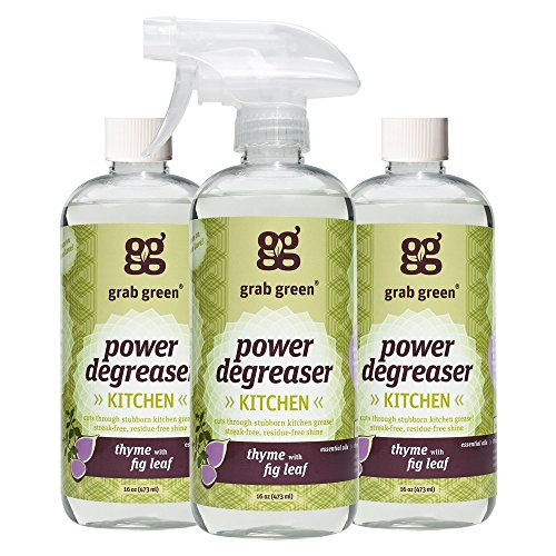 Grab Green Naturally-Derived, Non-Toxic, Biodegradable Power Degreaser