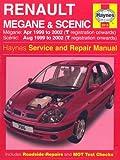 Renault Megane and Scenic (99-02) Service and Repair Manual