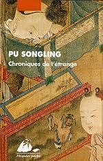 Chroniques de l'étrange de Songling Pu