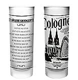 Köln Schnapsgläser | 6er Set | Gläser mit Gravur mit dem Kölschen Grundgesetz | Pinnchen bzw....