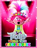 Rainbow Joy! - Trolls World Tour Coloring Book: Cute illustration - Learn and Fun Big Images - For Kids - Stimulate Creativity