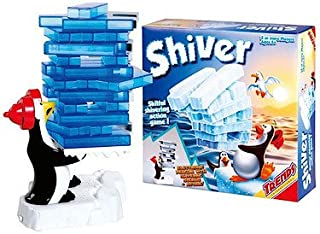 Trends Skillful Trembling Penguin Shiver Action Board Game - 5 Years & Above - Multi Color