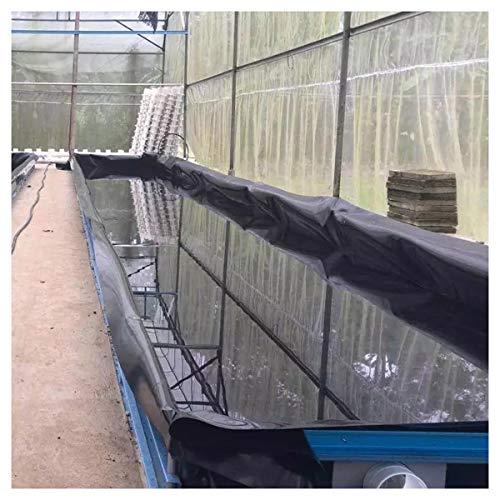 PVC Teichfolie 0,5mm Stärke Schwarze Fisch und Pflanzenfreundlich, UV und Witterungsbeständig Schwimmteich Folie Gartenteich Teichplane Aquagart Garten Teichzubehör, m(Size:6x33ft/2x10m,Color:0.5mm)