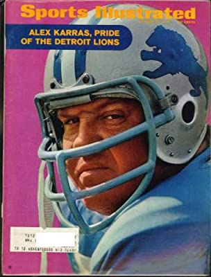 Sports Illustrated Magazine October 12, 1970 (Alex Karras Pride of the Detroit Lions)