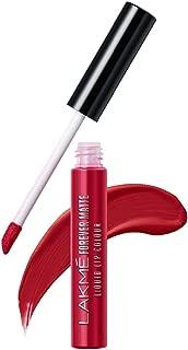 Lakme Forever Matte Liquid Lip Colour, Red Revival, 5.6 ml