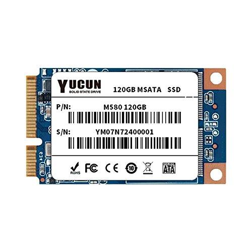 YUCUN MSATA III Disco Duro sólido Interno de Estado sólido 120GB SSD