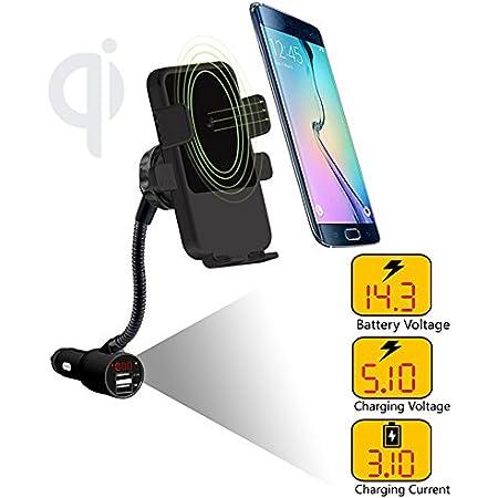 Wireless Car Ladegerät 3 In 1 Qi Schnell Ladegerät Elektronik