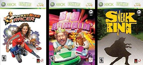 Burger King 3-Game Collection (Sneak King / Big Bumpin' / Pocket Bike Racer)