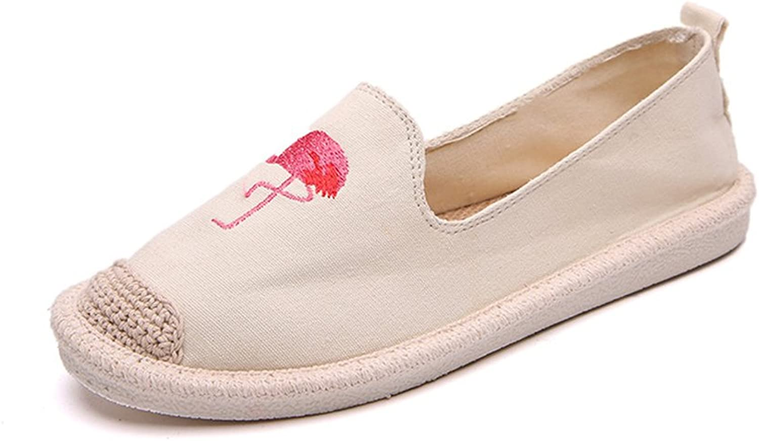 SUNNY Store Women's Loafers Classic Casual Canvas Slip On Fashion shoes Sneakers Flats