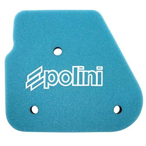 Schuimrubberen luchtfilter voor scooter Polini, dubbele dichtheid, voor MBK 50 Nitro OVETTO-YAMAHA 50 Aerox, NeOS-Aprilia 50 SR 1994>2000-MALAGUTI 50 F10, F12, F15 (203.0130)