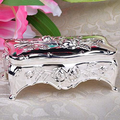 RANYAND Caja De Joyería Vintage Caja De Almacenamiento