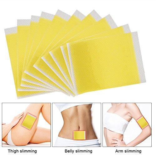 100 PCS Diät Patches Abnehmen Fettverbrennung Toxin Eliminieren Schlafen Schlank Slimming Patches voor gewichtsverlies