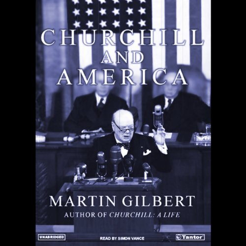 Churchill and America audiobook cover art