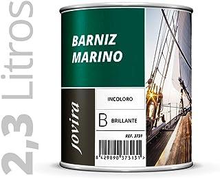 BARNIZ MARINO BRILLANTE 2,3L Barniz madera exterior, Barniz madera interior, barniz madera incoloro, Barniz madera transparente) Especial resistencia en ambientes marinos. 2.3 Litros