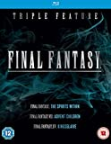 Final Fantasy Triple (Kingsglaive: Final Fantasy XV, Final Fantasy: The Spirits Within, Final Fantasy VII: Advent Children) [Blu-ray] [Region Free]