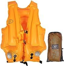 Reddingsvest voor volwassen kinderen, zwemvest drijfvermogen hulp zwemmen jassen lichtgewicht zwemvest automatisch druk op...