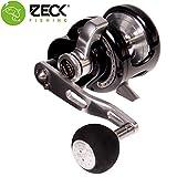 Zeck VR 5 Multirolle Linkshand - Wallerrolle zum Vertikalangeln auf Welse, Welsrolle zum aktiven...
