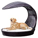 Refined Canine Outdoor Dog Chaise Lounger X-Large