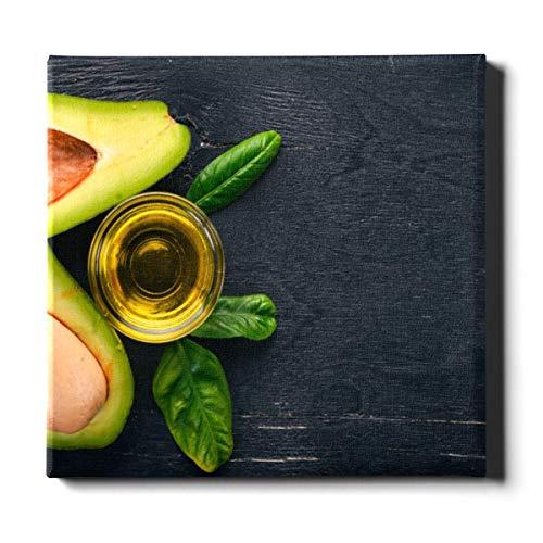 ALALAL Wohnzimmer Wandfarbe 20x24 Zoll (50x60 cm) Duftende und attraktive Avocado-Leinwanddrucke Wandkunst Leinwand dekorative Malerei geeignet für Wohnkultur