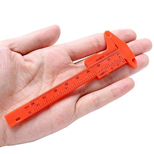 Regla 0,01 mm micrómetro medidor herramienta 180 mm Vernier