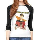 Photo de FERNMXZ T-Shirt à Manches Longues pour Femme, Rage Against The Machine Evil T-Shirt à col Rond - Multicolore - Medium
