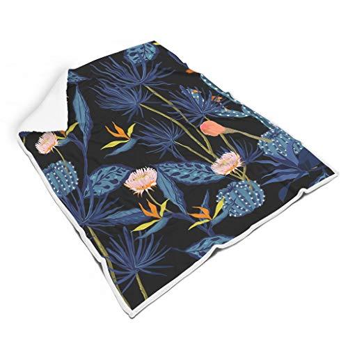 Rinvyintte Licht hypoallergene deken voor op reis, all-season square blankets voor kinderen of volwassenen, casual stijl