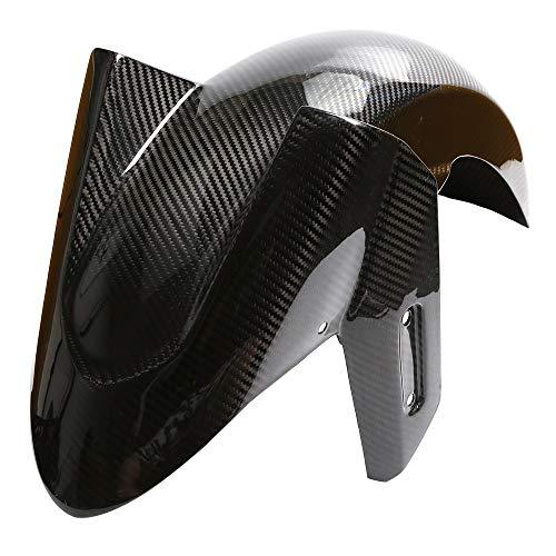 ZGYCYDLX Defensa Motocicleta de Fibra de Carbono FERMANTE Fender Splash MUD DE MUDA Guardia de Polvo Mudguardia Protección Neumático Hugger para Yamaha Tmax 530 T MAX 530