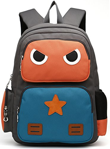ArcEnCiel Kid's Backpack (Orange and Green)